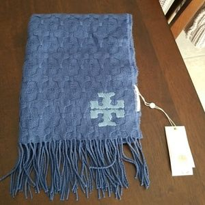 Tory Burch Whipstitch Woven T Scarf
